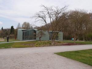 Het huis in beeldenpark Middelheim Antwerpen- Robbrecht en Daem architecten. Foto Jacqueline Knudsen