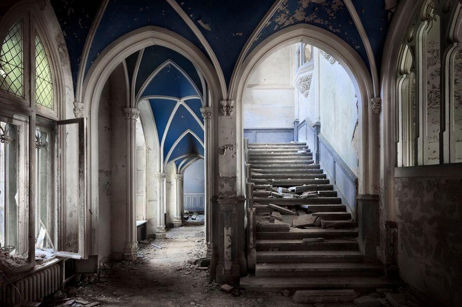 Schoonheid Van Verlaten Gebouwen Architectuur Nl
