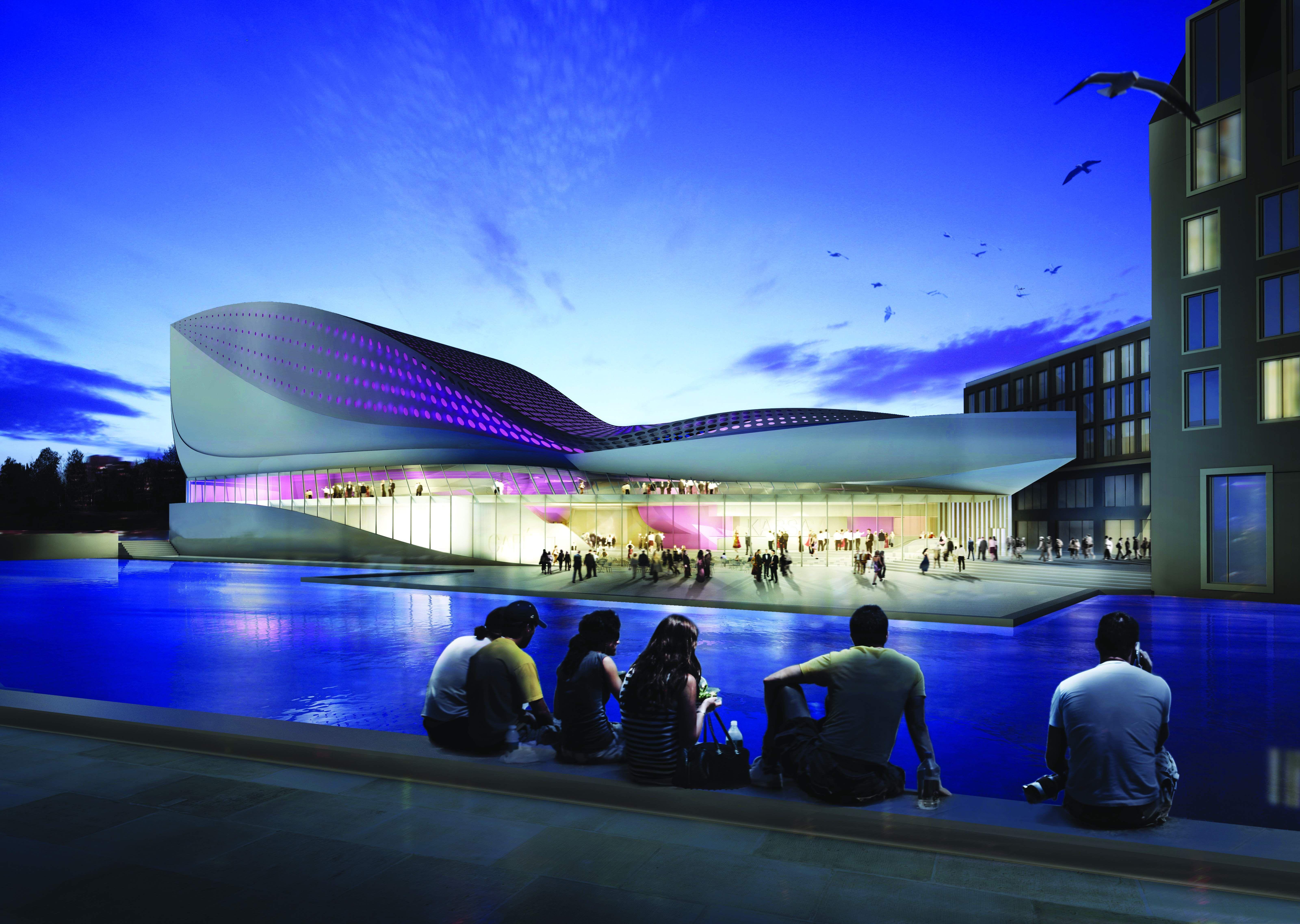Futuristisch Theater Van Unstudio Architectuur Nl
