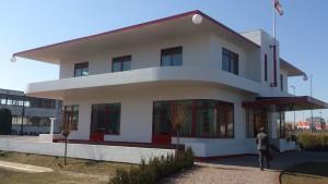 Entreezijde Villa Jongerius