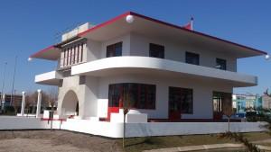 Achterzijde villa Jongerius