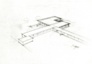 Ontwerp 1930 Mies van der Rohe, foto Museum of Modern Art, New York