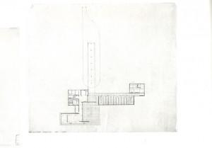 plattegrond Mies van der Rohe, foto Museum of Modern Art, New York