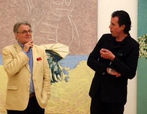 Jeroen Krabbé is door  museumdirecteur Ralph Keuning uitgenodigd voor een van de drie openingsexposities