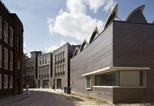 Uitbreiding Noordbrabants Museum en museumwoningen - Bierman Henket architecten. Foto Joep Jacobs