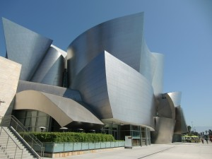 Walt Disney Concert Hall in Los Angeles (VS)
