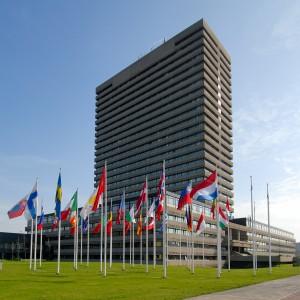 Nouvel en dam winnend ontwerp europees octrooibureau for Bureau 13 den haag