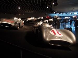 Mercedes Benz Museum in Stuttgart. Jacqueline Knudsen