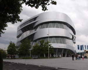 Mercedes Benz museum Stuttgart UN Studio