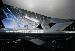 Porsche Museum in Stuttgart, Delugan Meissl architecten