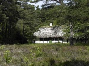 Gammle Tanghus op het eiland Læsø (ouwe tang)
