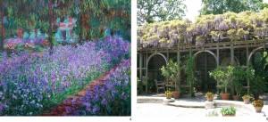 Jardin de Giverny door Claude Monet, 1900