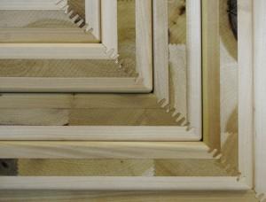 Endless Stair is gemaakt met een nieuw product: Kruislaags gelamineerd tulpenboomhout