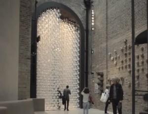De Wind Portal ontworpen door Najla El Zein in het V&A Museum 2013