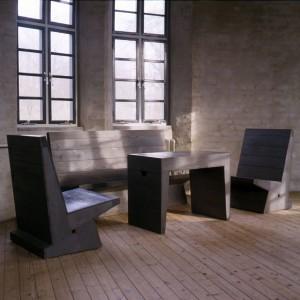 Van der Laan realiseerde vanaf 1956 diverse gebouwen en meubilair in het klooster Sint- Benedictusberg bij Vaals • Foto Frans de la Cousine.