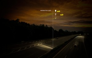 Interactieve wegverlichting