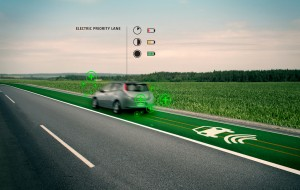 Electric priority Lane, wekt energie op
