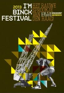 I'm Binck Festival 2013 Flyer