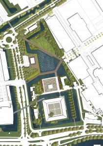 LOLA landscape architects, Het winnend prijsvraagontwerp van Naturalispark in Leiden