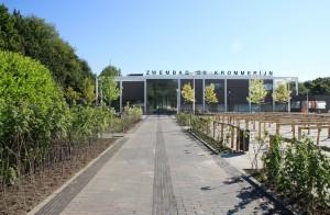 De publieksprijs ging naar zwembad de Krommerijn in Utrecht van Jeanne Dekkers
