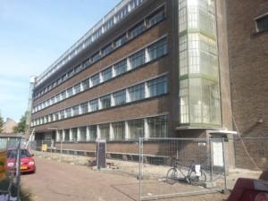 De Transformatie in het voormalige magazijngebouw van de PGEM in Arnhem Centrum Oost, gerestaureerd door K3 Architectuur