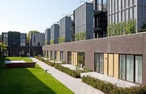 wooncomplex Riga in Tilburg door H-kwadraat Architectuur
