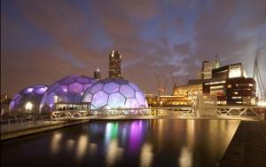 TEC ART vind deels plaats in het Drijvend paviljoen Rijnhaven Rotterdam