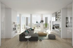 Cepezed impressie interieur appartement
