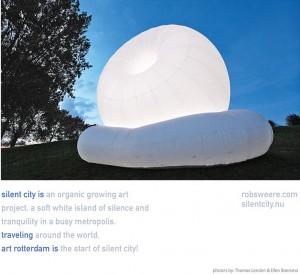 Silent City, Rob Sweere, Art Rotterdam 2014