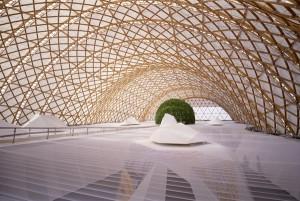 Japanse Paviljoen Hiroyuki Hirai, Foto Shigeru Ban Architects