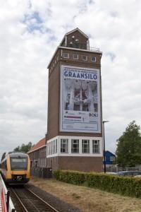 De Graansilo na de restauratie • Foto BOEi, Jan van Dalen.