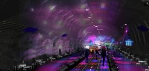 Spookstations Parijs nachtclub - Oxo architectes + Laisné Architecte