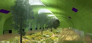 Spookstations Parijs tuin - Oxo architectes + Laisné Architecte