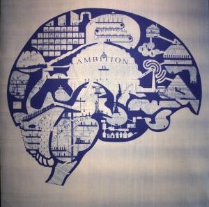 The Architect's Brain -illustratie door Point Supreme  - Foto Jacqueline Knudsen