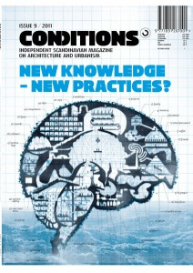 Conditions #09 2011 cover: The Architects Brain
