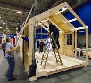 Print en bouw je eigen huis - Mand een machine huis ter wereld ...