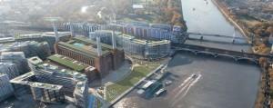 Masterplan voor het gebied rond Battersea Powerstation is ontworpen door Rafael Viñoly