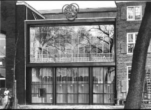 Marius Duintjer ontwierp in 1952 ontspanningsgebouw voor Werkspoor aan de Oostenburgergracht