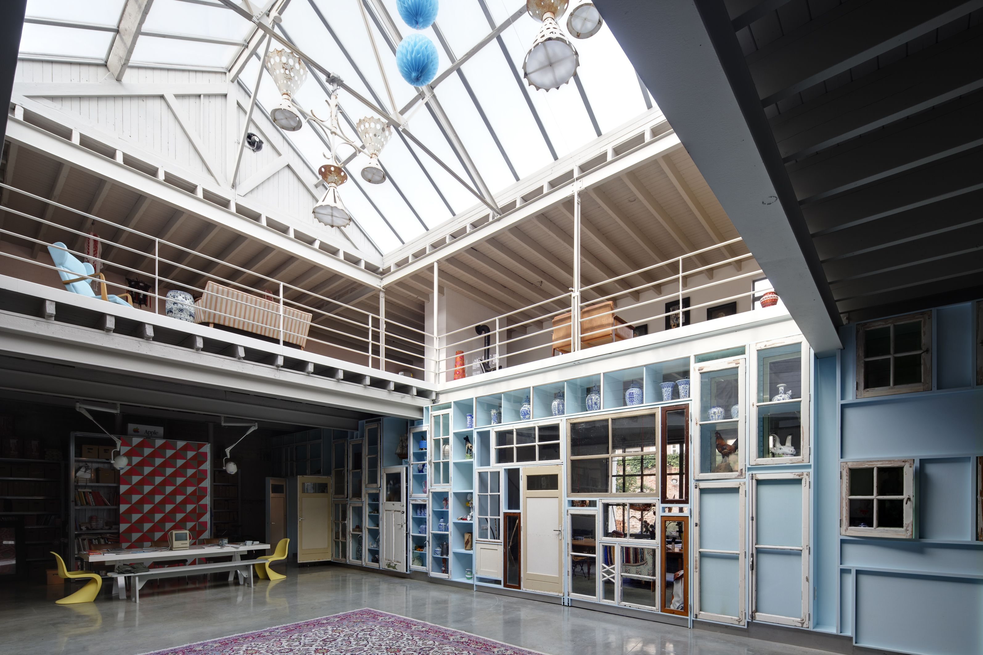Garage Inrichting Gebruikt : Transformatie garage tot woonwerkhuis architectuur