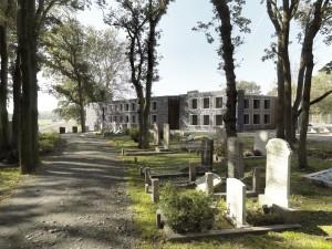 Uitbreiding van begraafplaats Duinhof bij Lisse • Foto Francois Hendrickx.