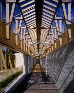 Crematorium Haarlem Noord is een ontwerp van Herman Zeinstra van Dok architecten • Foto Arjen Schmitz.