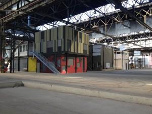 Kunststad NDSM werf in Amsterdam, broedplaats voor creatieve bedrijven