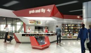 The Grab & Fly shop is een kiosk op Schiphol achter de douane. De kiosk staat op zeven locaties op Schiphol en op diverse andere luchthavens in de wereld.