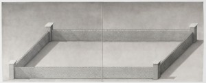 Paul Noble - Heaven  (121.9 x 302.3 cm)