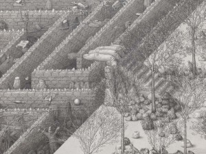 Paul Noble - Welcome to Nobson - detail
