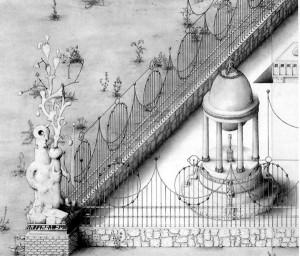 Paul Noble - Ye old ruin - detail