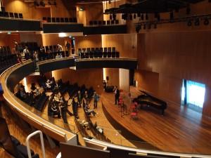 kamermuziekzaal Hertz (Architectuurstudio HH). Foto Jacqueline Knudsen.