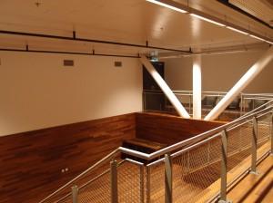 workshopruimte onder Cloud Nine ( Thijs Asselbergs). Foto Jacqueline Knudsen.