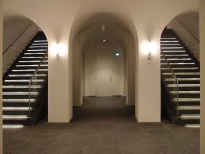 Nivo 0 in het Mauritshuis. Foto Jacqueline Knudsen.