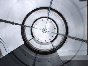 Glazen lift, zonder stalen constructie, ontwikkeld i.s.m. Octatube. Foto Jacqueline Knudsen.